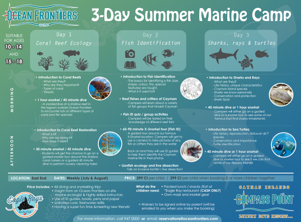 New- Marine Science Camps