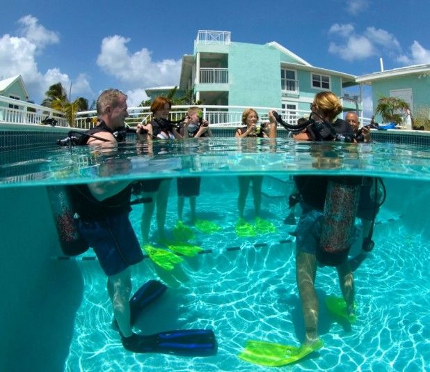 PADI ReActivate Scuba Refresher Class in the Cayman Islands